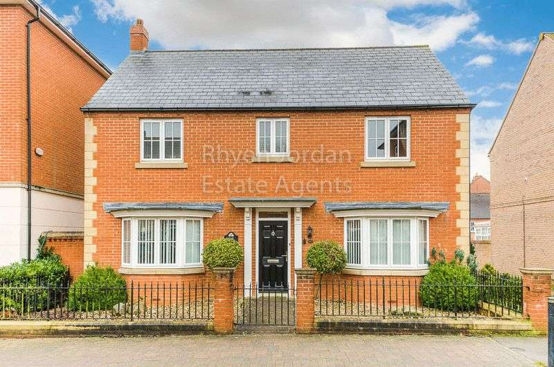 4 Bedrooms Detached House for sale in Saltwood Avenue, Milton Keynes