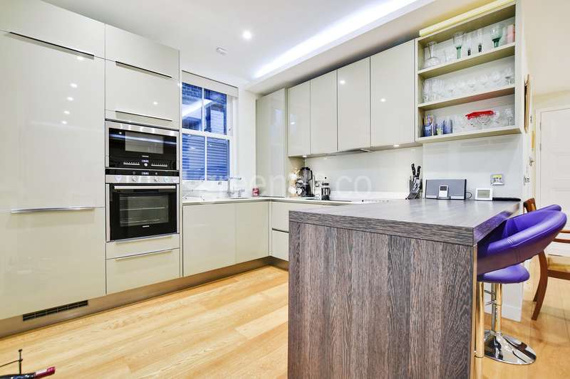 3 Bedrooms Maisonette Flat for sale in West Cottages, West Hampstead, London, NW6