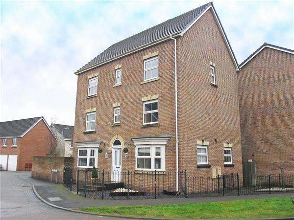 5 Bedrooms Detached House for sale in Maes y Lech, Radyr