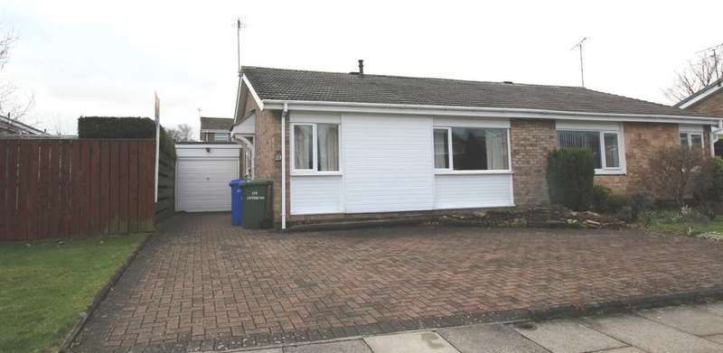 2 Bedrooms Bungalow for sale in Cateran Way, Collingwood Grange, Cramlington