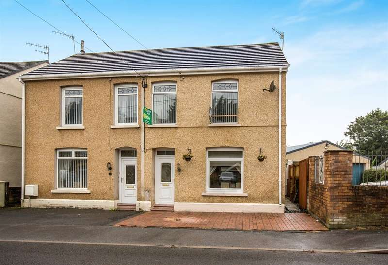 3 Bedrooms Semi Detached House for sale in Maes Road, Llangennech, LLANELLI
