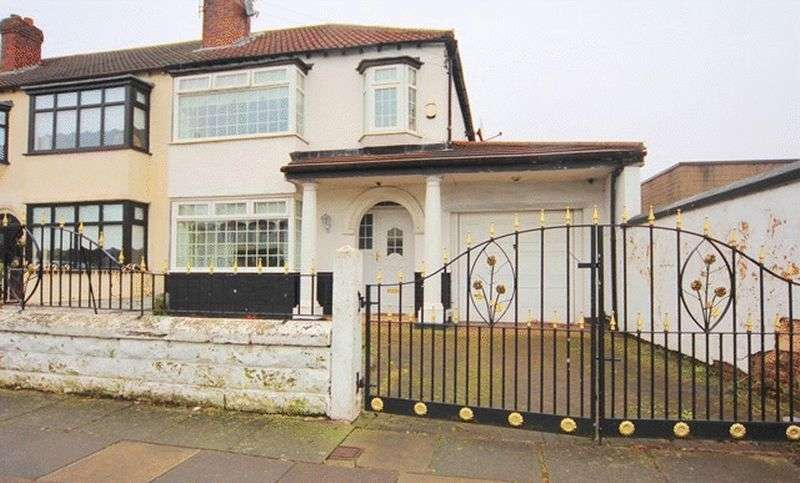 3 Bedrooms Semi Detached House for sale in Blackmoor Drive, West Derby, Liverpool, L12