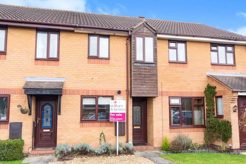 2 Bedrooms Terraced House for sale in Cardinal Hinsley Close, Newark, NG24