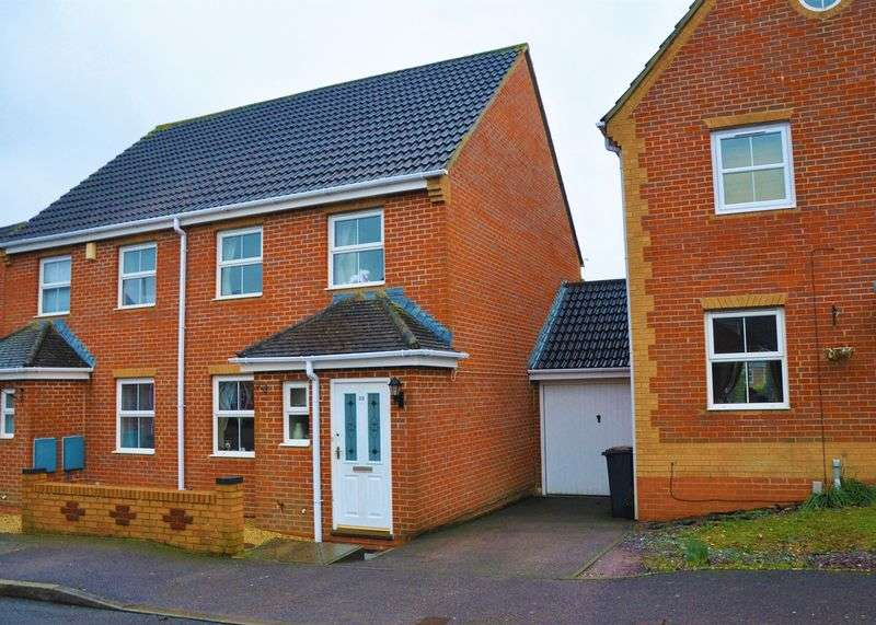 3 Bedrooms Semi Detached House for sale in Jutland Crescent, Andover