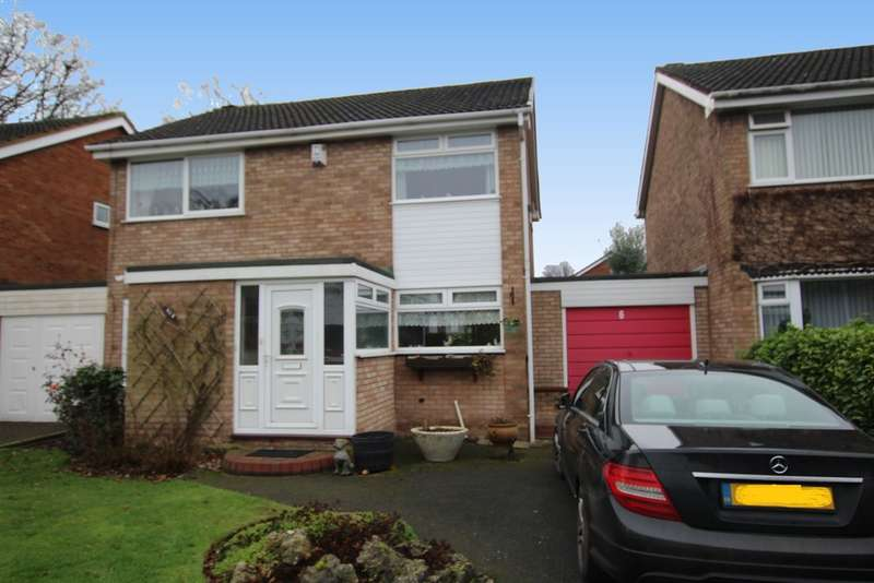 3 Bedrooms Detached House for sale in Welcombe Drive, Walmley, B76 1ND