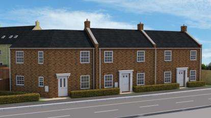 3 Bedrooms Terraced House for sale in Wittel Close, Windmill Street, Whittlesey, Cambridgeshire