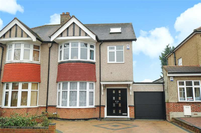 5 Bedrooms Semi Detached House for sale in Cambridge Road, North Harrow, Middlesex, HA2