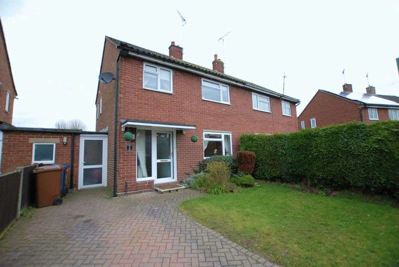 3 Bedrooms Semi Detached House for sale in West Way, Uttoxeter