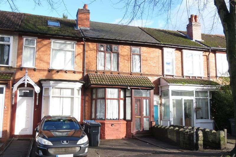 3 Bedrooms Terraced House for sale in Sarehole Road, Hall Green, Birmingham B28 8DU