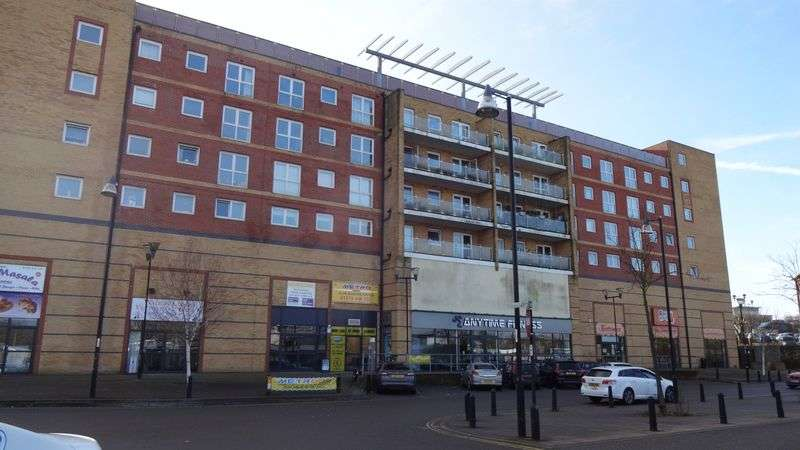 2 Bedrooms Flat for sale in Mill Court, Edinburgh Gate, Harlow