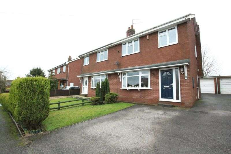 3 Bedrooms Semi Detached House for sale in Broomfields, Biddulph Moor