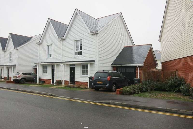 3 Bedrooms Semi Detached House for sale in Poynder Drive, Holborough Lakes
