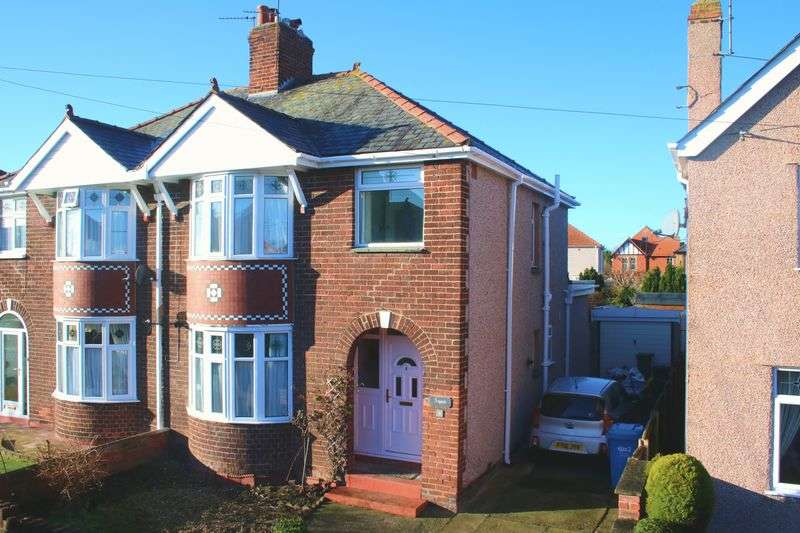 3 Bedrooms Semi Detached House for sale in Princes Park, Rhuddlan