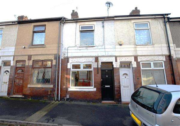 2 Bedrooms Terraced House for sale in Clifton Street, May Bank, Newcastle-under-Lyme