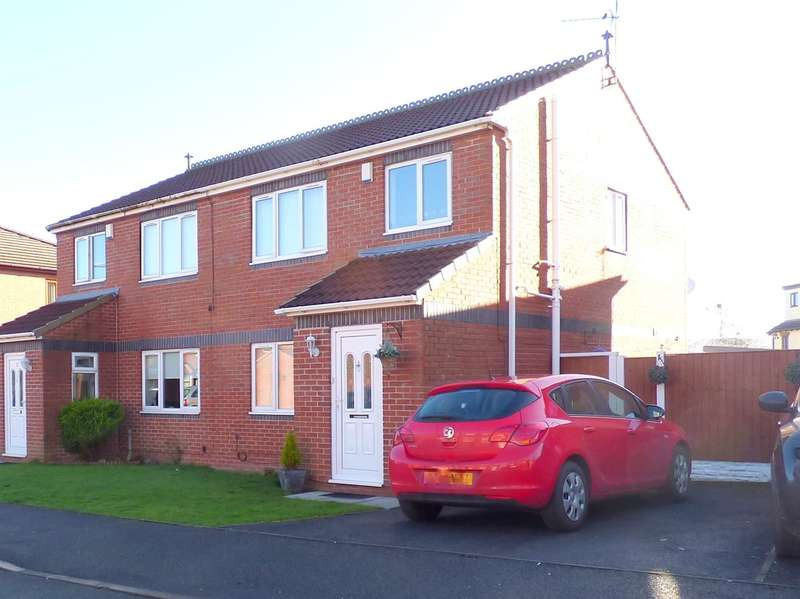 3 Bedrooms Semi Detached House for sale in West View Close, Huyton, Liverpool