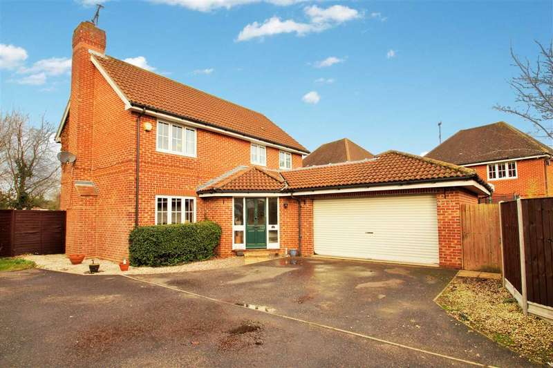 4 Bedrooms Detached House for sale in Garret Place, Maltings Park Road, West Bergholt, Colchester