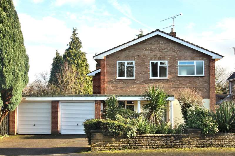 4 Bedrooms Detached House for sale in York Road, Woking, Surrey, GU22