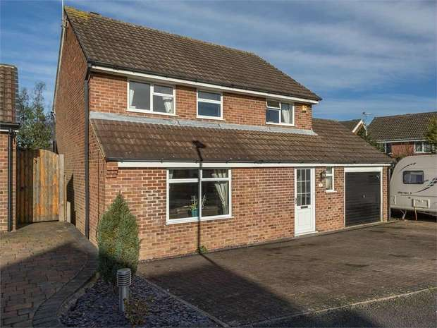 4 Bedrooms Detached House for sale in Caversham Way, West Hallam, Ilkeston, Derbyshire
