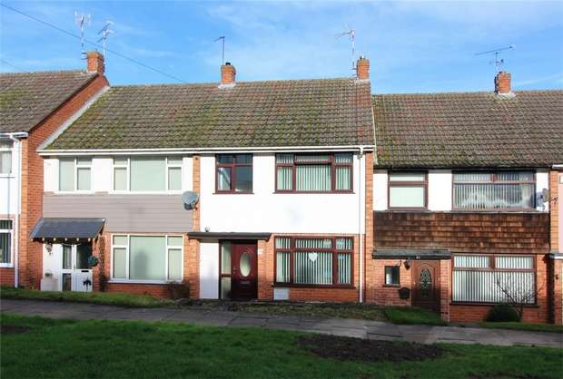 3 Bedrooms Terraced House for sale in Trossachs Road, Mount Nod, COVENTRY