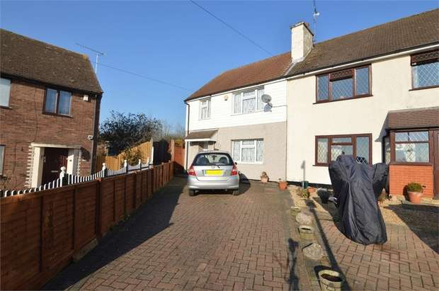 3 Bedrooms End Of Terrace House for sale in Oxleys Road, Waltham Abbey, Essex