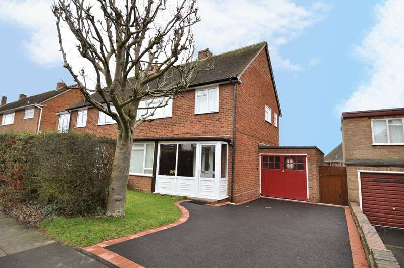 3 Bedrooms Semi Detached House for sale in St Denis Road, Bournville Village Trust, Selly Oak
