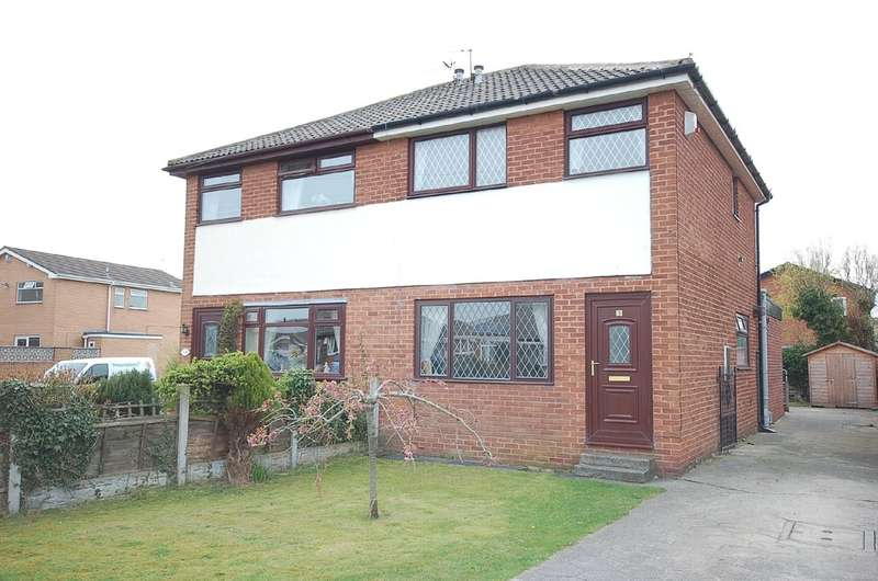3 Bedrooms Semi Detached House for sale in Gordale Close, Blackpool