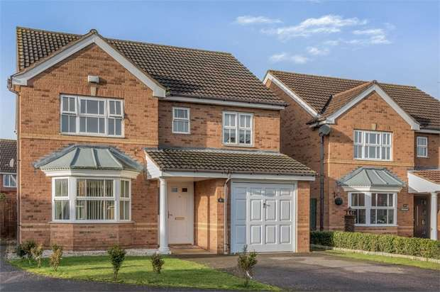4 Bedrooms Detached House for sale in Halesowen Drive, Elstow, Bedford