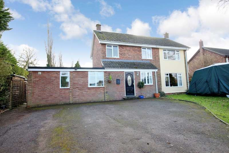 4 Bedrooms Detached House for sale in Great Moulton, Norwich