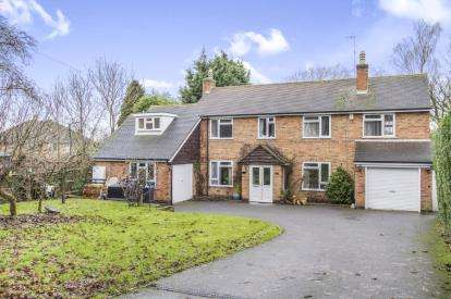 4 Bedrooms Detached House for sale in Uppingham Road, Thurnby, Leicester, Leicestershire