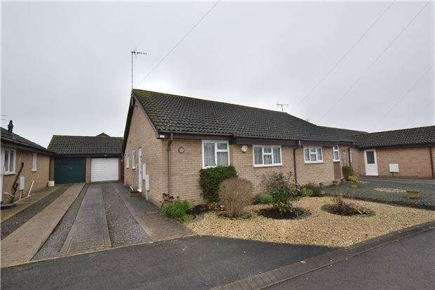 2 Bedrooms Semi Detached Bungalow for sale in Farriers End, Quedgeley, GLOUCESTER, GL2 4WA