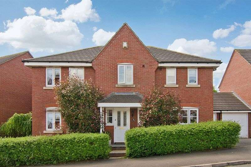 4 Bedrooms Detached House for sale in Nightingale Walk, St Matthews, Burntwood