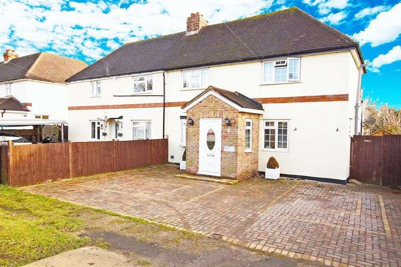 2 Bedrooms Semi Detached House for sale in Old House Lane, Roydon