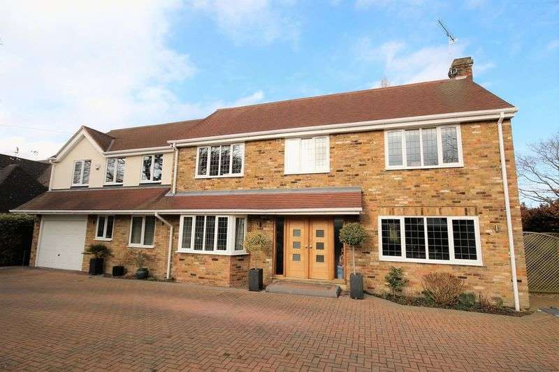 4 Bedrooms Detached House for sale in Ridgeway, Hutton Mount
