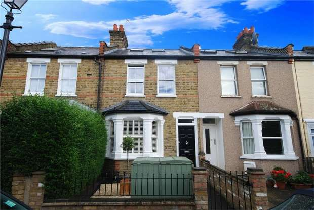 3 Bedrooms Terraced House for sale in Sherland Road, Twickenham
