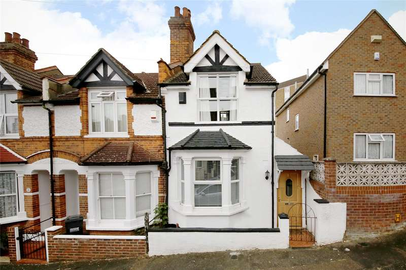 3 Bedrooms End Of Terrace House for sale in Abbey Road, Croydon