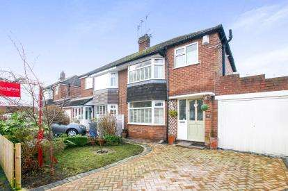3 Bedrooms Semi Detached House for sale in Nursery Road, Cheadle Hulme, Cheadle, Greater Manchester