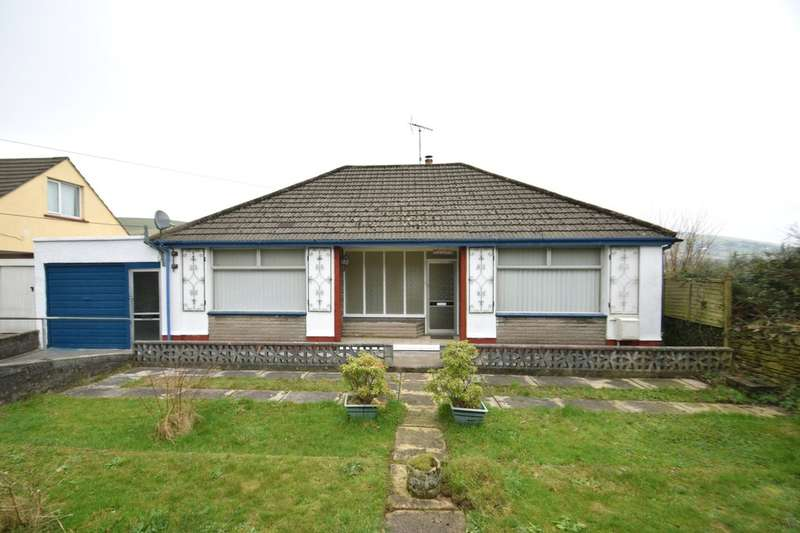 3 Bedrooms Detached Bungalow for sale in Riva, Maesteg Road, Llangynwydd, Maesteg, Bridgend County Borough, CF34 9SN.