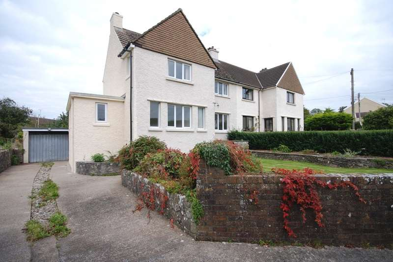 3 Bedrooms Semi Detached House for sale in Downs View, Aberthin, Cowbridge