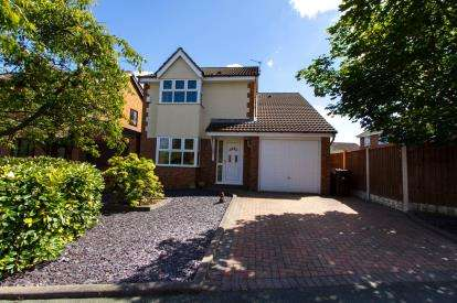 4 Bedrooms Detached House for sale in Whimbrel Park, Liverpool, Merseyside, Uk, L26