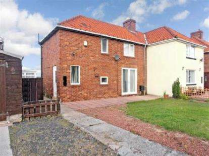 2 Bedrooms Semi Detached House for sale in Wordsworth Avenue, Wheatley Hill, Durham, DH6