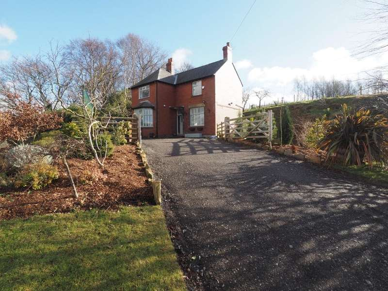 3 Bedrooms Detached House for sale in New Mills Road, Birch Vale, High Peak, Derbyshire, SK22 1BT
