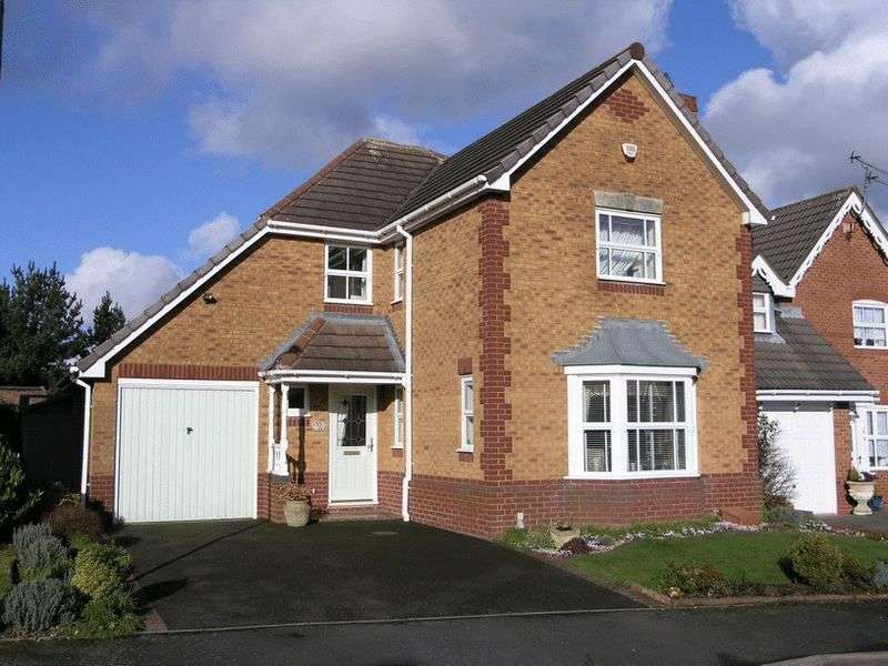 4 Bedrooms Detached House for sale in Breamore Crescent, Dudley