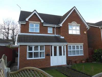 4 Bedrooms Detached House for sale in Honeysuckle Way, Great Wyrley