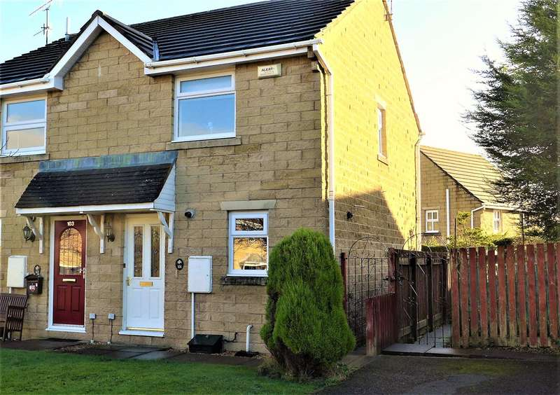 2 Bedrooms Semi Detached House for sale in Printers Fold, Burnley