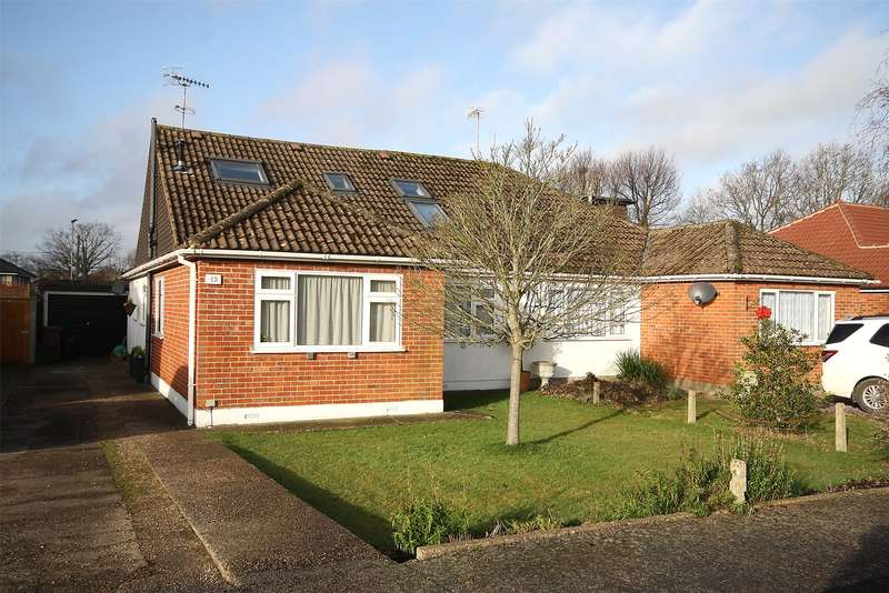 4 Bedrooms Semi Detached Bungalow for sale in Orchard Road, Smallfield, Horley, Surrey, RH6