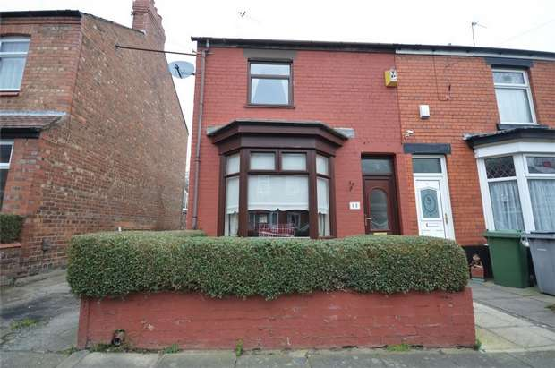 3 Bedrooms End Of Terrace House for sale in Oakleigh Grove, Bebington, Merseyside
