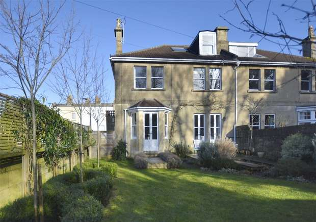 4 Bedrooms Semi Detached House for sale in Wexcombe, Beechen Cliff Road, Bath