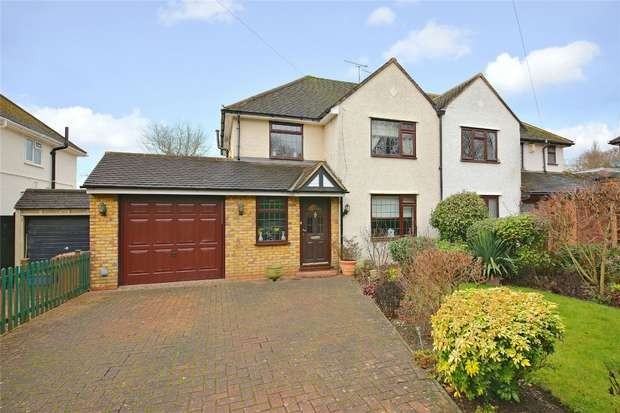 3 Bedrooms Semi Detached House for sale in Watling Knoll, Radlett, Hertfordshire