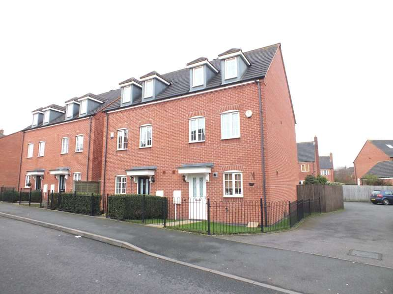 3 Bedrooms Semi Detached House for sale in Deykin Road, Lichfield