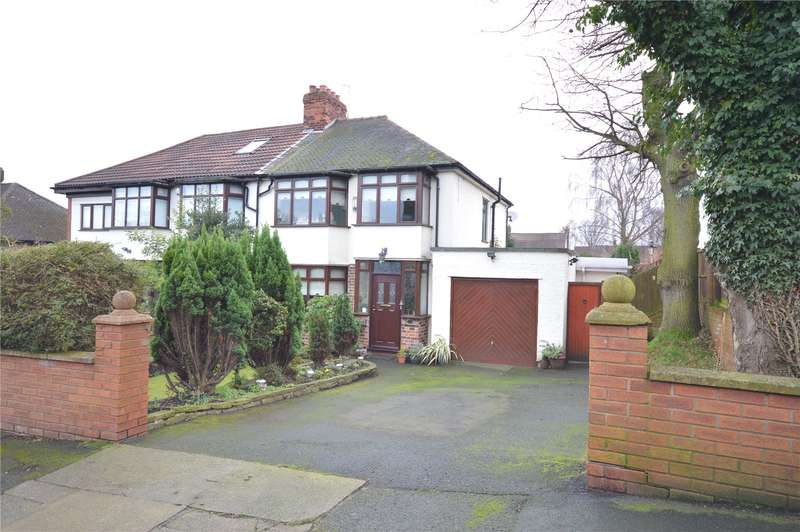 4 Bedrooms Semi Detached House for sale in Hillside Drive, Woolton, Liverpool, L25